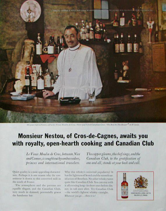 1963 Canadian Club whiskey ad  |  #retroreveries