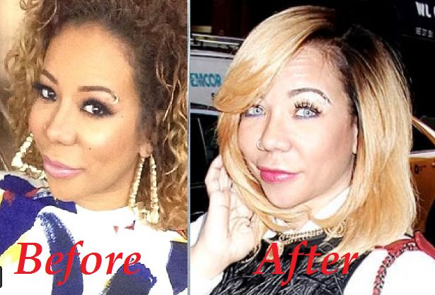 Urban Import: Tameka Harris Permanently Changes Her Eye Colour #tamekaharris #tiny #eyecolour #blueeyes #surgery