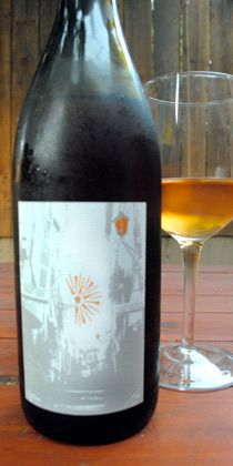Finally, a wine that matches Asian food!  Kevin Kelley's Saffron Haze.