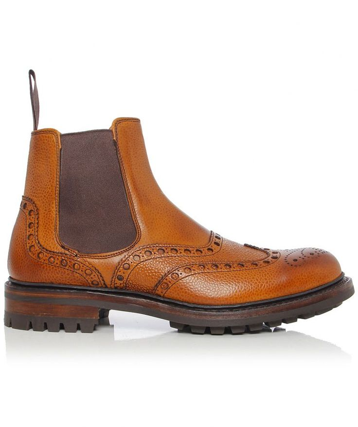 Cheaney & Sons Tamar Brogue Chelsea Boots