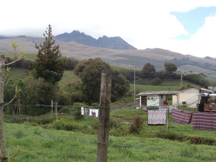 near Cotopaxi