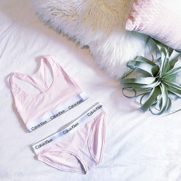 Omg yas yas yas! I NEED this calvin klein underwear in rose oh my gosh!! I'm obsessed with this ❤❤❤❤