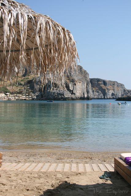 The Explorer: St Paul's Bay, Lindos, Greece