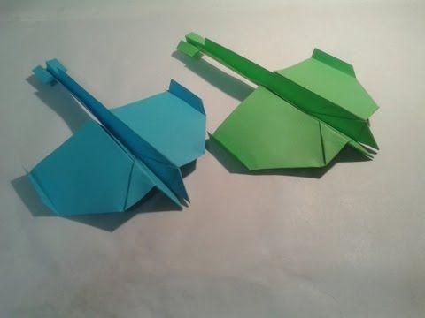 sandylandya@outlook.es ▶ Como hacer un avion de papel planeador - YouTube