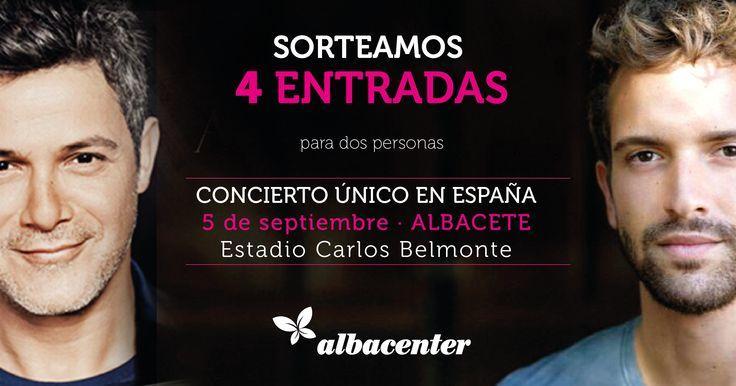 4 ENTRADAS ALEJANDRO SANZ PABLO ALBORÁN