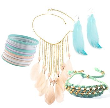 Breezy & Casual Pastel Jewelry: Summery Pastel, Casual Pastel, Pastel Jewelry