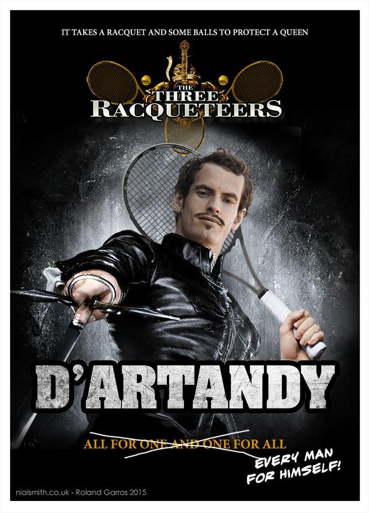 D'Artandy - The Three Racqueteers - Roland Garros 2015