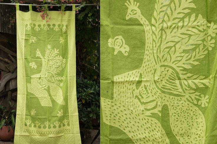 Applique Work Door Curtain - Buy Curtain Online India