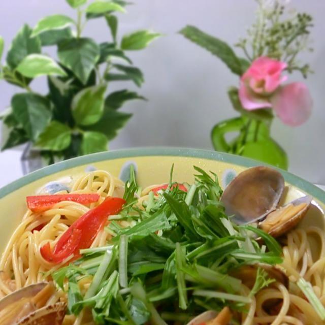 あさりのスープが、パスタに絡んで美味しかったです。 - 94件のもぐもぐ - 和風あさりスープパスタ1 by hiroshikimDeU