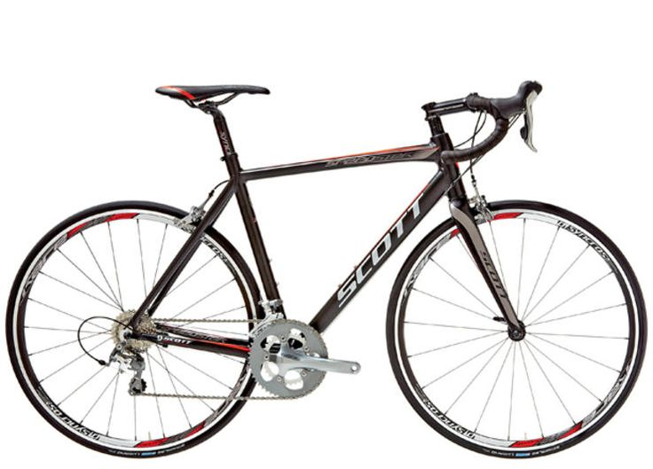 Scott Speedster S30 http://www.bicycling.com/bikes-and-gear-features/reviews/buyers-guide-2013-entry-level-road-bikes