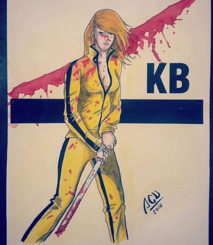 Kill Bill - acuarelas by Agucho76