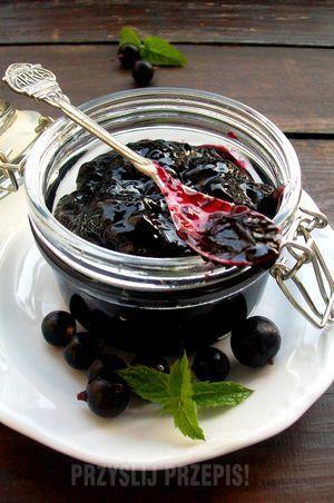 Chutney z czarnej porzeczki