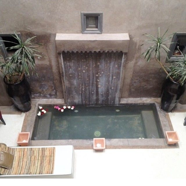 Plunge pool or water feature?