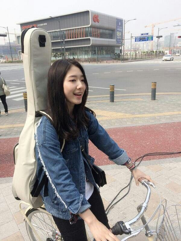 Park Shin Hye update from Twitter~
