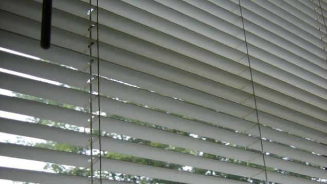 We all know that plastic mini blinds are magnets for filth, and they're nearly impossible to clean without kicking a ton of dust into the air. Next time you tidy up the house, try giving the blinds a bath.