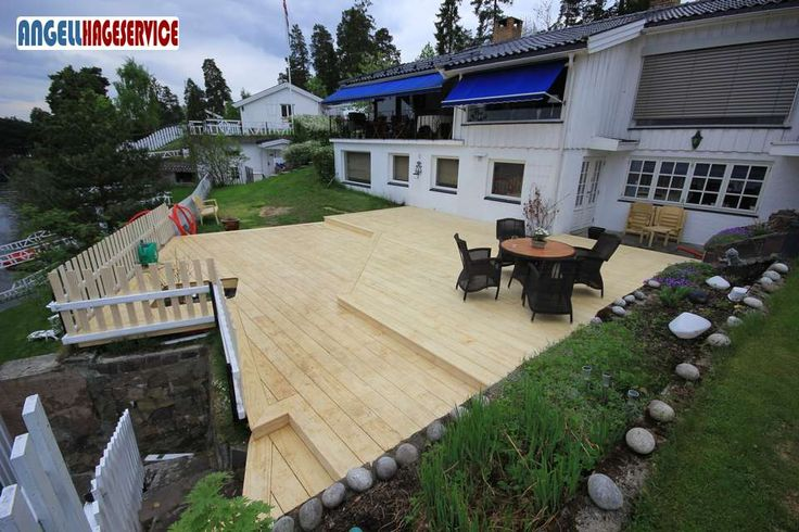 Platting bygget i Accoya | Angell Hageservice