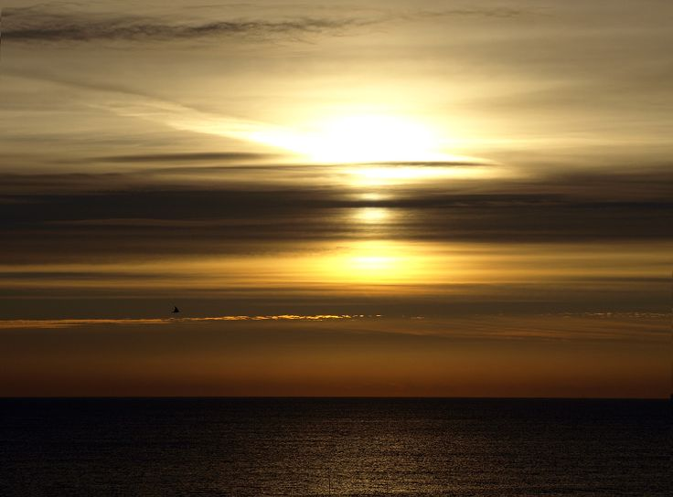 Hornsea Sunrise 15 Sept 2013 by Tom Wood