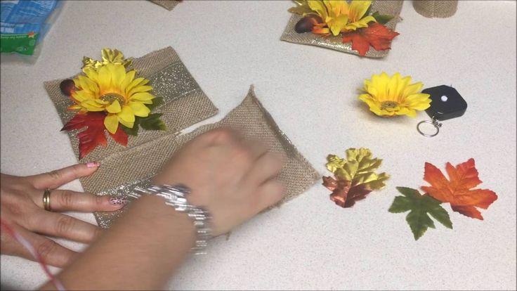 Manualidades de Porta cubierto para Accion de Gracias (Thanksgiving)