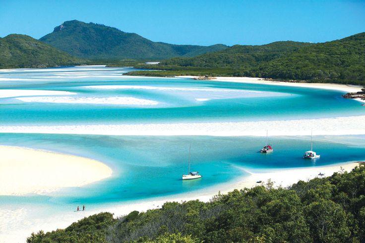 Whitsundays - L'Australia è la terra delle mille bellezze! #Australia #Spiaggia #Paradiso   Fonte: australiantravellercom