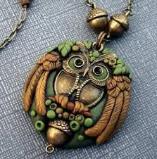 Image result for fimo steampunk pendant