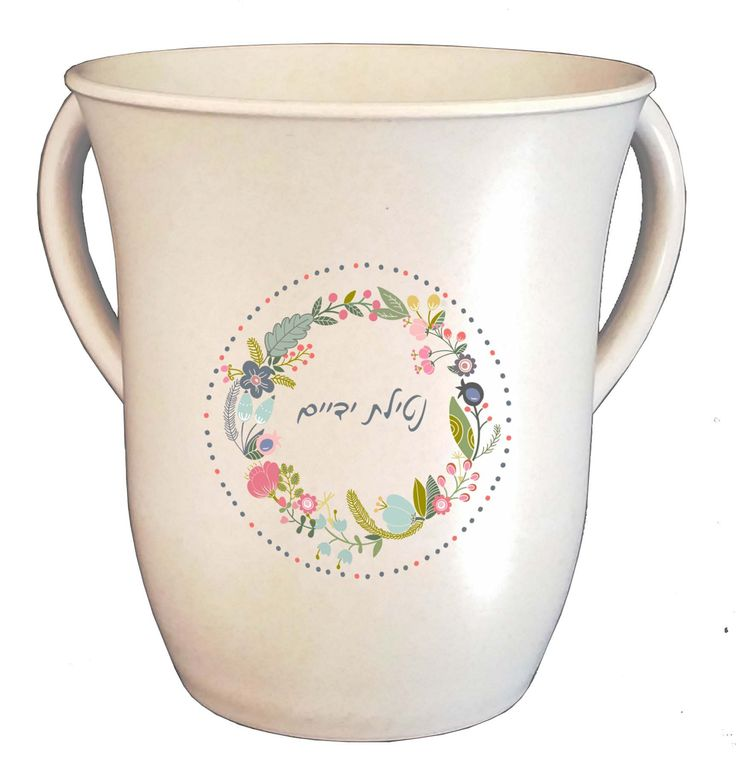 Wash Cup Bamboo Eco-Friendly Size 13*15 cm