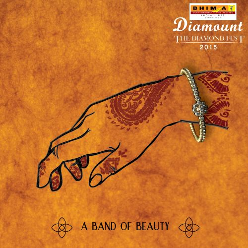 Give your wrist that circlet of elegance it's been missing! #Bhima #Diamonds