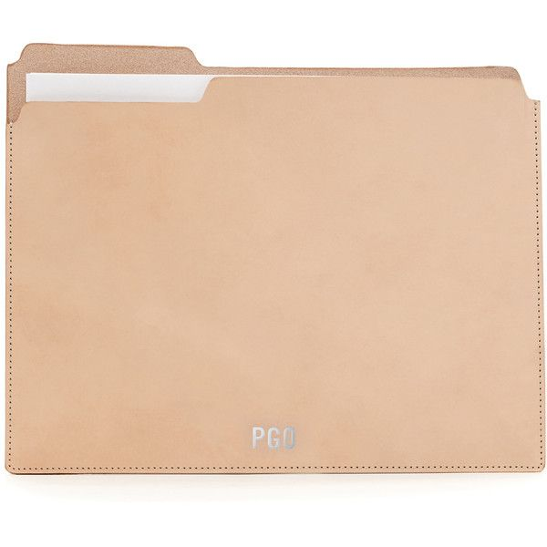 Fiaru Folder Leather (2 560 UAH) ❤ liked on Polyvore featuring home, home decor, office accessories, leather file folder, leather office accessories, document folder, document file folder and leather document folder