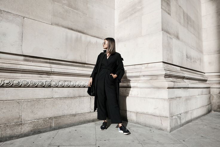 Monki  duster jacket | The Fifth  jumpsuit | Balenciaga  sneakers | Mango  bag   Asos  sunnies   I wore this super comfy outfit ...