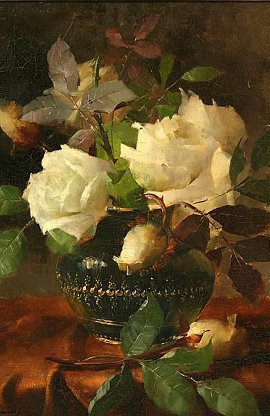Frans Mortelmans - reminds me of my mother's roses