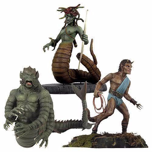Gentle Giant CLASH of TITANS Medusa, Kraken, Calibos ...