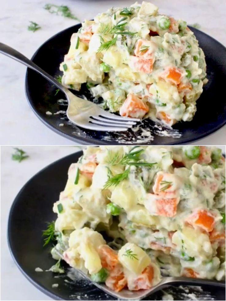 Vegan Potato Salad Recipe • Veggie Society
