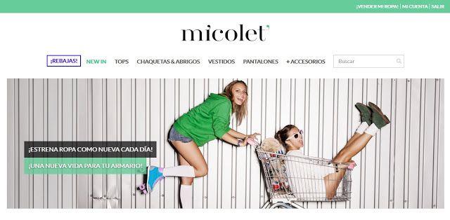 Mi experiencia con Micolet, una web para comprar y vender ropa de segunda mano