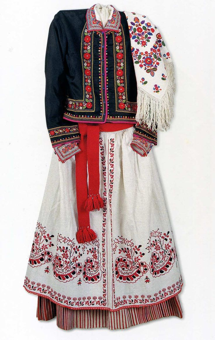Yavoriv folk costume from the collection of Lviv National Museum