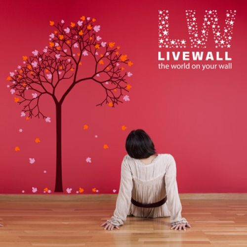 αυτοκολλητα τοιχου δέντρα,αυτοκόλλητα τοίχου με κλαδιά,αυτοκόλλητα με λουλούδια