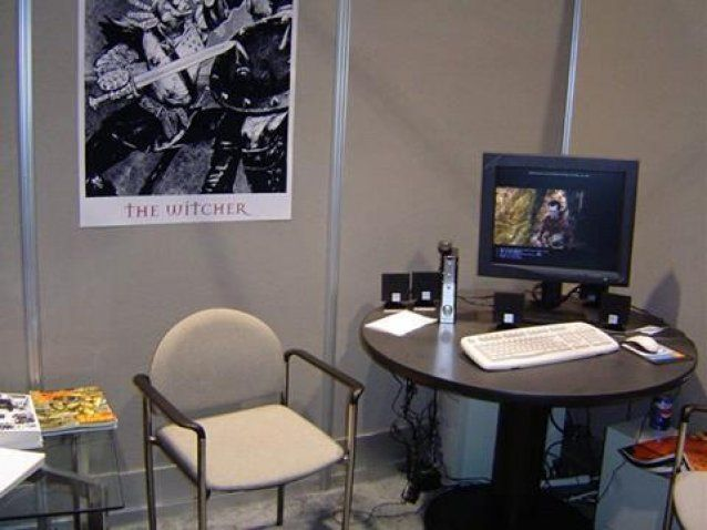 Big Things Have Small Beginnings...... CD Projekt Red promoting The Witcher 1 at E3 2004.