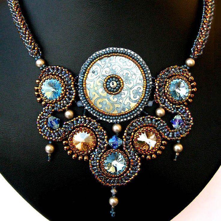 Spectacular Beadwork by artist/teacher: Miriam Shimon