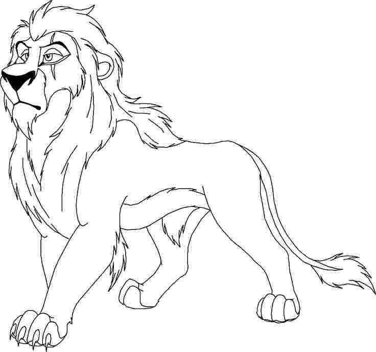 Scar As A Baby Coloring Pages Baby Coloring Pages Coloring Pages Lion Coloring Pages