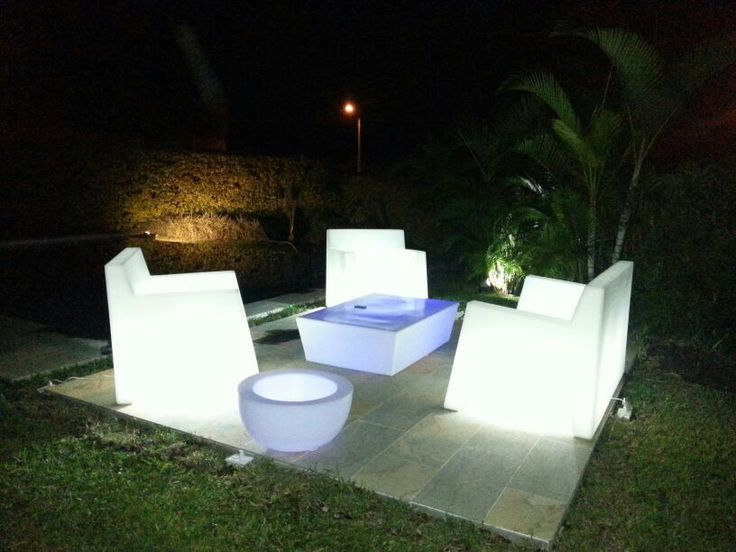 Illuminated  furniture by FORADESIGN Colombia