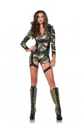 Disfraz Militar Comando