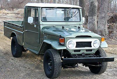 1975 Toyota LandCruiser HJ45 Pick Up Diesel 160 Pictures like FJ45 FJ40 FJ55
