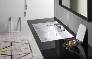 Bijzondere waskom 2Step van ALAPE www.alape.com | wastafel | washtub | washstand | Sieger | design | badkamer | bathroom | interieur | interior | interieurdesign | interiordesign | wonen