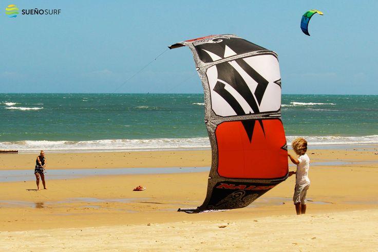 #Kite launching