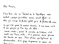 Cécile Duflot : sa lettre truffée de fautes pour François Hollande