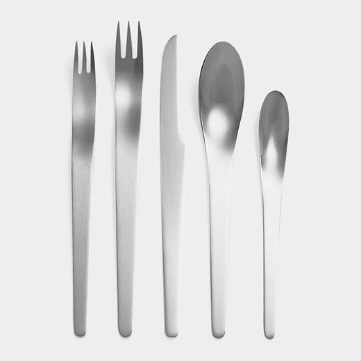 Arne Jacobsen Flatware. Designed in 1957, and just the most awesome design for kitchen utensils that there is.