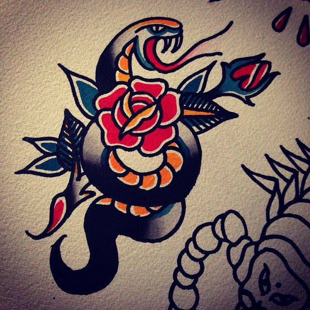 17 Best images about SNAKE TATTOO on Pinterest ...