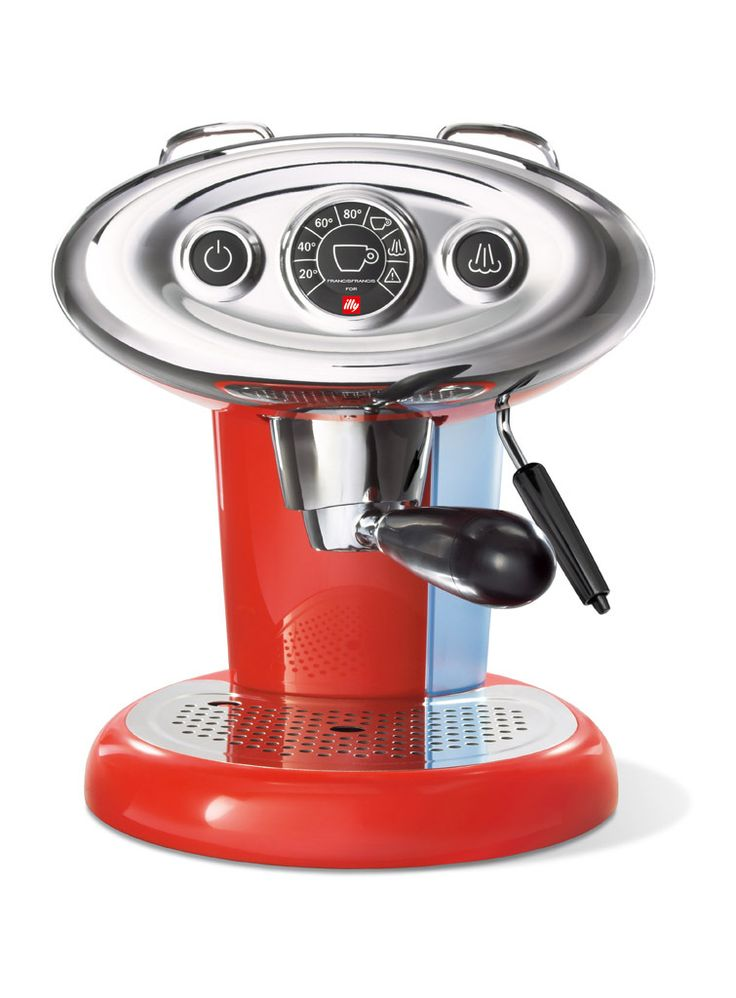Illy Caffe & Espresso Francis Francis for illy iperEspresso Machine in Red
