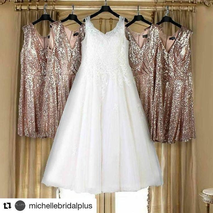 Oh my   #Repost @michellebridalplus (@get_repost)  Dress your entire bridal party. #michellebridal