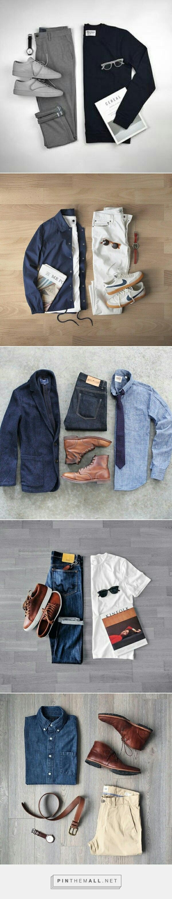 Cool Outfit Grids For Guys.