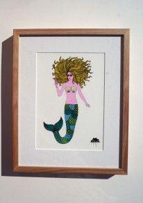 Matilda-the-Mermaid-Original-Painting-by-Mulga