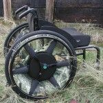 The 2-gear wheelchair wheels of Michael Beck | Περιοδικό Αυτονομία - Disabled.GR